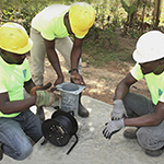 solinst proud to support water for life's well drilling efforts in haiti