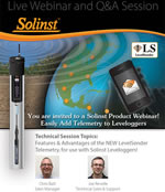 solinst product webinar on the levelsender
