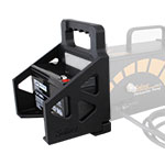 new peristaltic pump battery holder provides added convenience