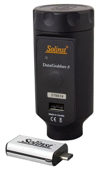 solinst datagrabber data transfer device for leveloggers and aquavent