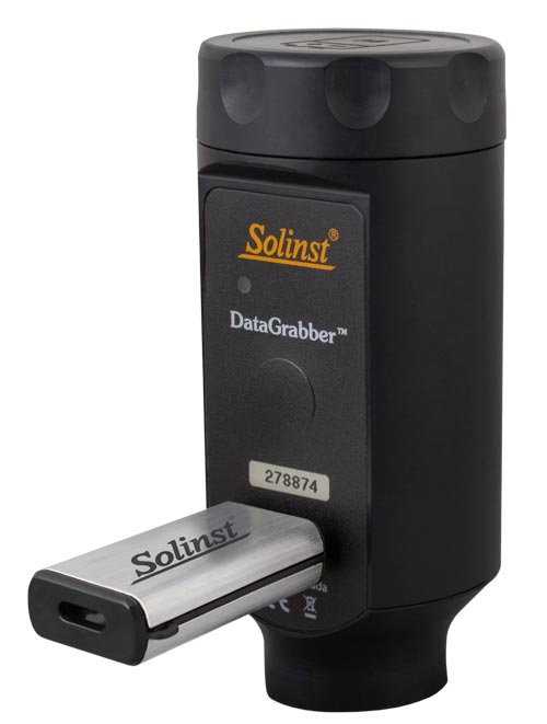 solinst datagrabber data transfer unit for levelogger data