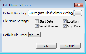 Figure 4-29 Application Setting Window