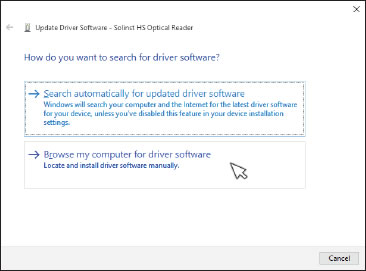 figure 4-19 update driver software