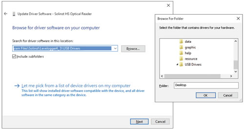 figure 5-20 browse for driver software