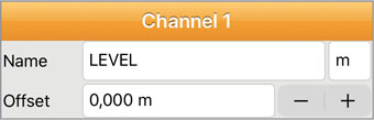 solinst levelogger app channel 1 level para ios