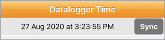 solst levelogger app datalogger time para ios