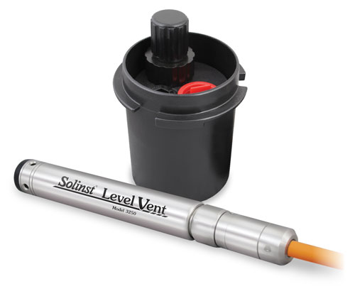 solinst levelvent water level dataloggers