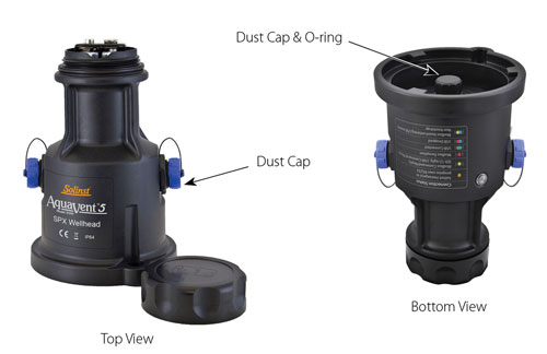 solinst aquavent wellhead maintenance replacing aquavent batteries replacing aquavent orings aquavent well cap maintenance maintaining aquavent cap aquavent cap care instructions image