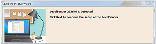 solinst levelsender software setup wizard