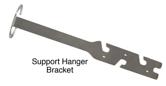 solinst levelsender support hanger bracket