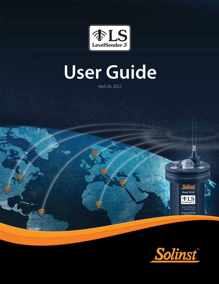 solinst levelsender user guide