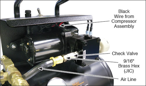 12 volt compressor assembly replacement