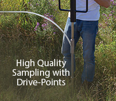 how to sample groundwater with solinst drive point piezometers