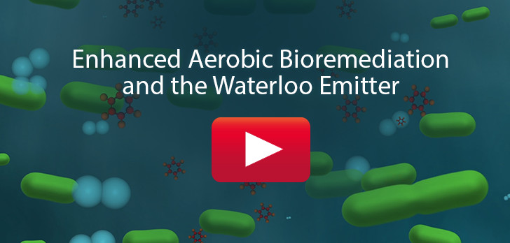 enhanced aerobic bioremediation using solinst waterloo emitter