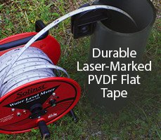 durable laser-marked pvdf flat tape