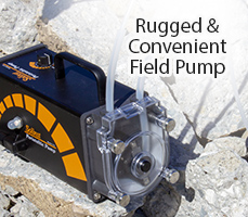 rugged & convenient field pump