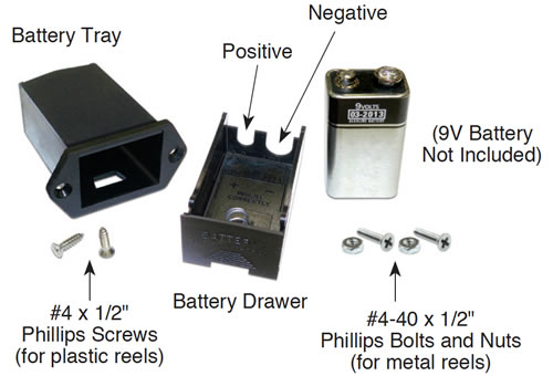 solinst meters battery drawer