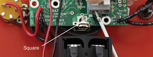 reconnect the tape to the solinst water level meter circuit board