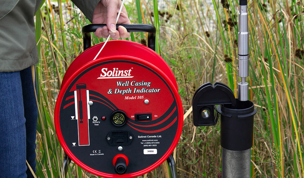 solinst well casing and depth indicator