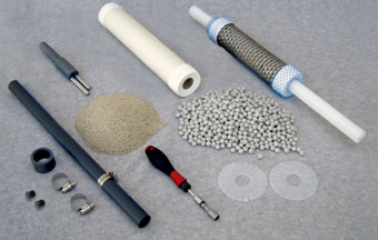 components and tools needed for cmt multilevel system sand and bentonite cartridge installation