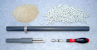 tools need to install cmt multilevel system sand and bentonite cartridges